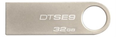 32GB USB 2.0 DataTraveler SE9 (Metal casing), 2-pack