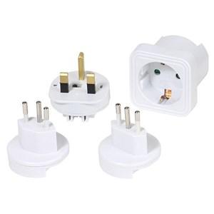 Image of   36217 strømstik adapter Universel Hvid