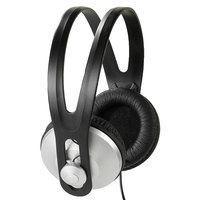 Image of   36502 hovedtelefoner/headset Sort, Sølv