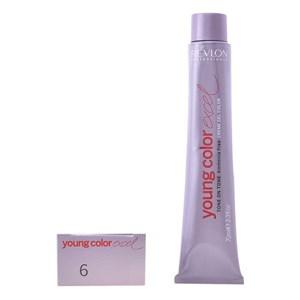 Farve uden Ammoniak Young Color Excel Revlon 6.66 - 70 ml