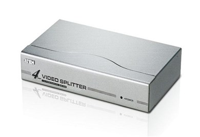 Image of 4-Port Vga Splitter Sølv