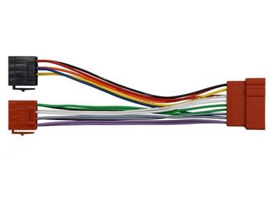 Image of 410600 del & tilbehør til bilens mediemodtager ISO adapter