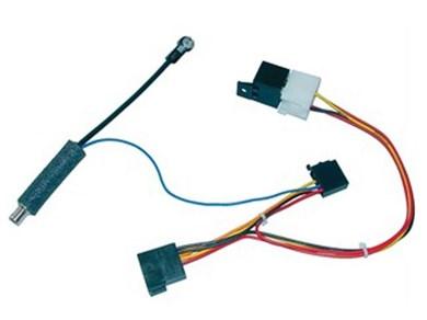 Image of 410602 del & tilbehør til bilens mediemodtager ISO adapter