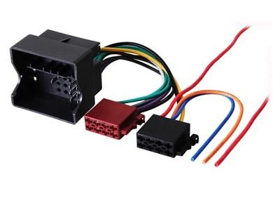 Image of 410632 kabelinterface samt han- og hun-adaptor ISO Autoradio Flerfarvet