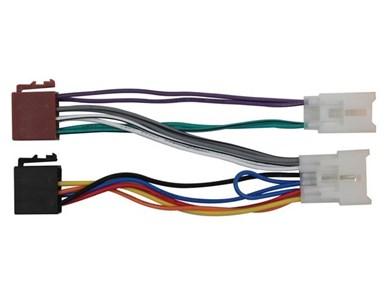 Image of 410817 del & tilbehør til bilens mediemodtager ISO adapter