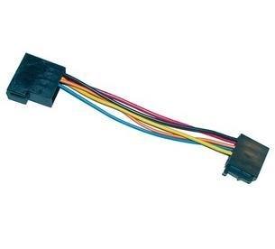 Image of 410826 del & tilbehør til bilens mediemodtager ISO adapter
