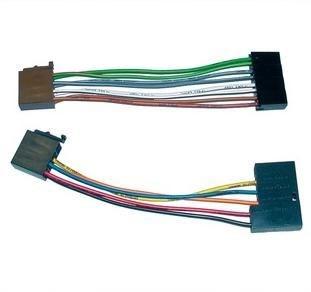 Image of 410922 del & tilbehør til bilens mediemodtager ISO adapter
