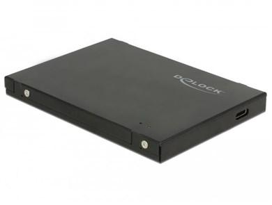 Image of   42609 storage drive enclosure M.2 SSD enclosure Black