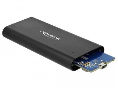 Image of   42614 storage drive enclosure SSD enclosure Black