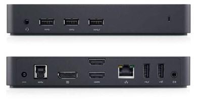 Image of   452-BBOT dockingstation Ledningsført USB 3.2 Gen 1 (3.1 Gen 1) Type-B Sort
