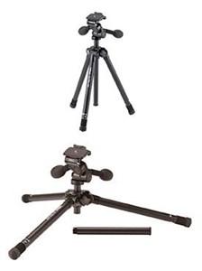 Image of   Ultra 455 kamerastativ Digital-/filmkameraer 3 ben Sort