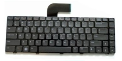 Dell 456MJ notebook reservedel Tastatur
