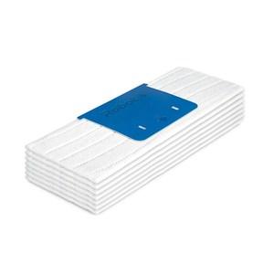 Image of   4632822 tilbehør til moppe Moppe vådpuder Hvid