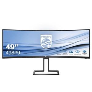 """Billede af 498P9/00 computerskærm 124,5 cm (49"""") 5120 x 1440 pixel LCD Sort"""