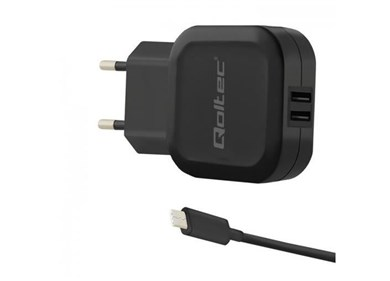 50188 mobile device charger Indoor Black
