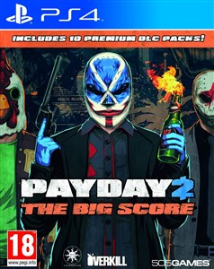 Image of Payday 2: The Big Score, PS4 videospil PlayStation 4 Basis+DLC