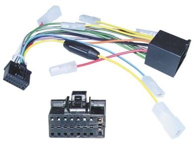 Image of 510615 del & tilbehør til bilens mediemodtager ISO adapter