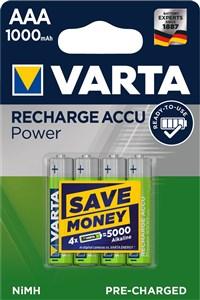 Image of   5703301404 husholdningsbatteri Genopladeligt batteri AAA Nikkel-Metalhydrid (NiMH)