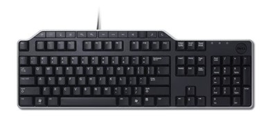 Dell KB522 tastatur USB QWERTZ Tysk Sort