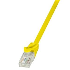 Billede af 5m Cat.5e U/UTP RJ45 netværkskabel Gul Cat5e U/UTP (UTP)