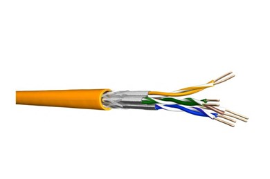 Billede af 60015556 netværkskabel Orange 250 m Cat7 S/FTP (S-STP)