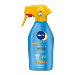 Solcreme spray Protege & Broncea Nivea 300 ml