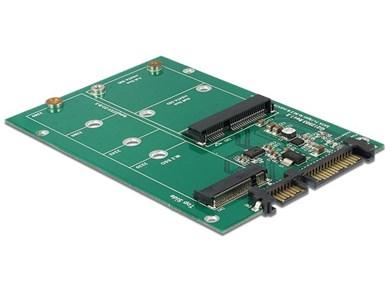 Image of   62670 interface-kort/adapter M.2,mSATA Intern