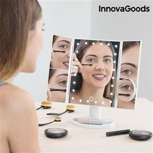 Billede af InnovaGoods 4 i 1 LED Forstørrelsesglas Spejl