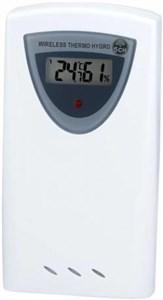 Image of   7009993 hygrometer & psycrometer Elektronisk hygrometer Grå, Hvid