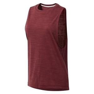 Image of   T-shirt til Damer uden Ærmer Reebok el Marble Muscle Tank Bourgogne L