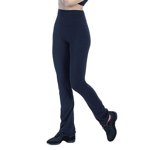 Flad mave sportslggings til kvinder Happy Dance 2388 Trompetbukser M