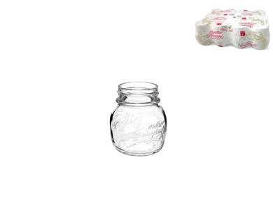 Billede af Glaskrus Bormioli Quattro Stag Krystal ø 7,5 x 8,3 cm - 150 cc