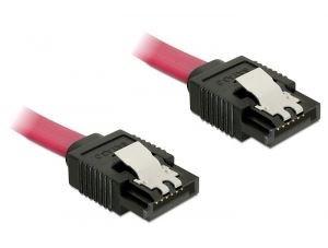 Image of   82676 SATA-kabel 0,3 m Rød