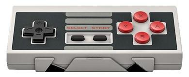 Image of NES30 Gamepad Android,Mac,PC,iOS Bluetooth/USB Sort, Grå, Rød