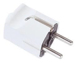 Image of 910.270 strømstik Type F Hvid