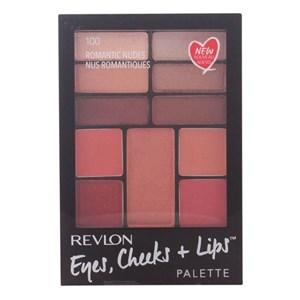 Make-up Pung Eyes Cheeks Lips Revlon 100 - Romantic Nudes