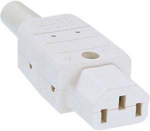 Image of 915.270 strømstik C13 Hvid