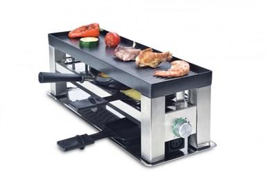Billede af 977.44 raclette grill Sort, Rustfrit stål