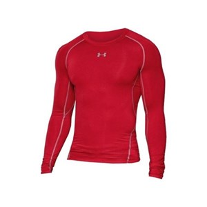 Under Armour Mens Long Sleeved Compression T-shirt  Under Armour 1257471-600 Rød XL