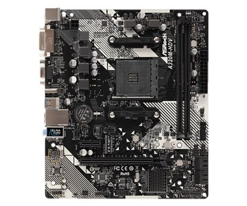 Image of A320M-HDV R4.0 bundkort Stik AM4 Micro ATX AMD A320