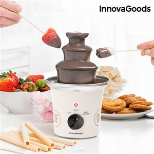 Billede af InnovaGoods Sweet & Pop Times Hvidt Chokolade Springvand 70W Stål