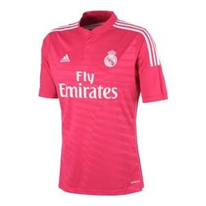 Image of   Kortærmet fodboldtrøje til mænd Adidas Real Madrid Pink (2ª) (Størrelse l - us)