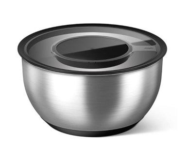Image of   Accenta Salatskål 5 L Rund Rustfrit stål 1 stk
