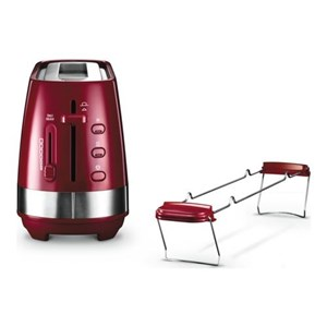 Image of   Active Line Long Toaster, Red CTLA3103.R