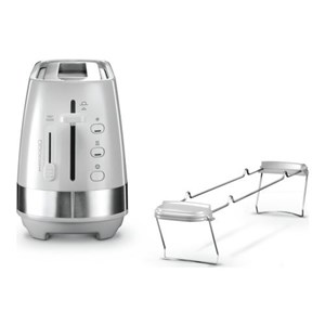 Image of   Active Line Long Toaster, White CTLA3103.W