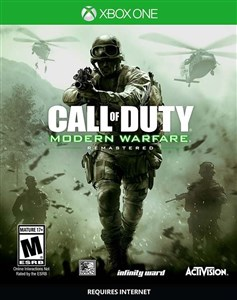 Image of Call of Duty 4: Modern Warfare Remastered, Xbox One videospil