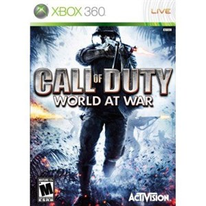 Image of Call of Duty 5: World At War videospil Xbox 360 Engelsk