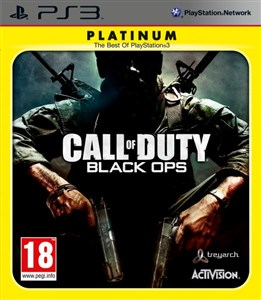 Image of Call of Duty: Black Ops (Platinum) videospil PlayStation 3 Platin Engelsk