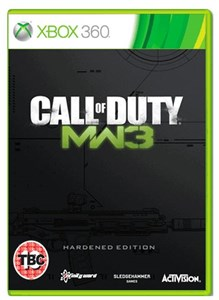 Image of Call of Duty: Modern Warfare 3 Hardened Edition videospil Xbox 360 Engelsk