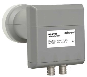Image of ACX 925 Low Noise Block downconverter (LNB) Grå